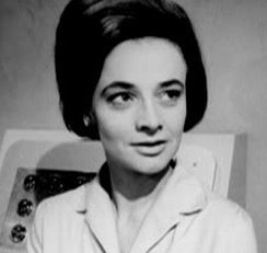 Barbara Wright was played by Jacqueline Hill. Barbara was a history teacher at Coal Hill School in London where the Doctor's granddaughter Susan is a pupil. - t_barbarawright3